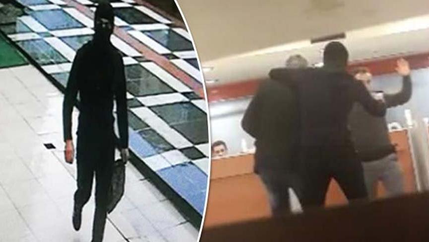 100 kamera kaydı izlenerek yakalanan soyguncunun kimliği şoke etti