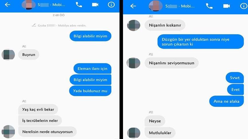 Sosyal medyadan yapılan iş görüşmesinde 'taciz' iddiası