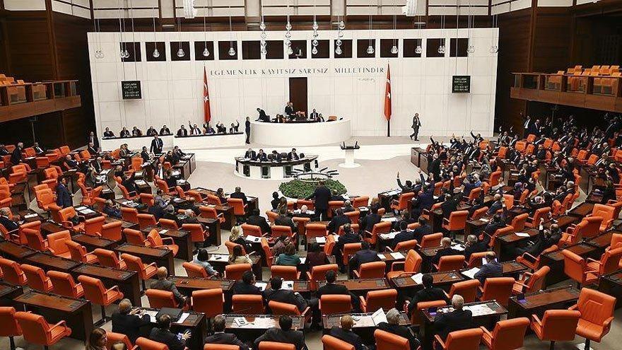 Ekonomi alanında destek teklifi Genel Kurul'da kabul edildi