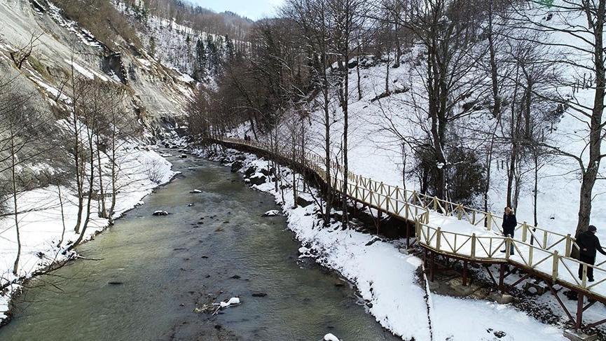 Tonya Haberleri: Trabzonda doğayla iç içe yürüyüş parkuru açıldı 92
