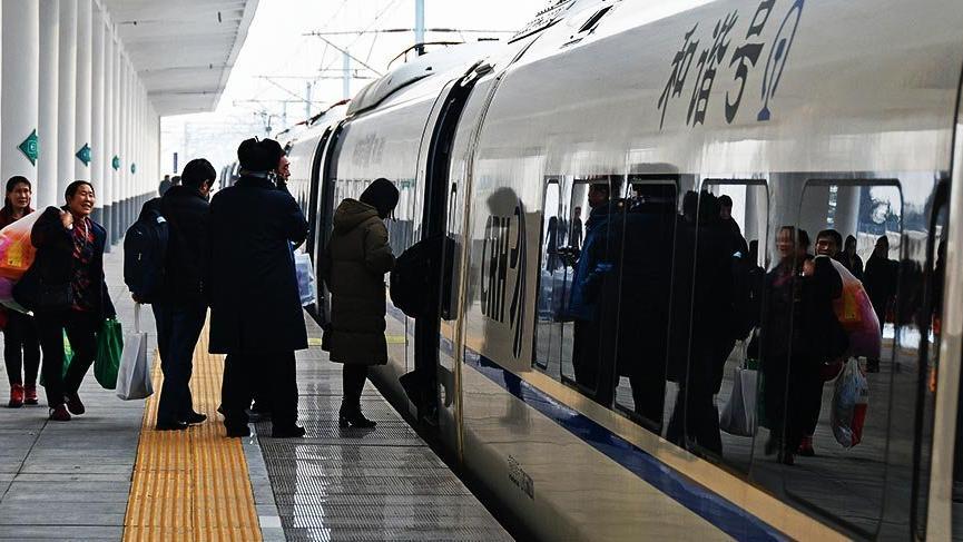 Dünyada ilk: Çin'de otomatik hızlı şimendifer işletme sistemi testleri başladı