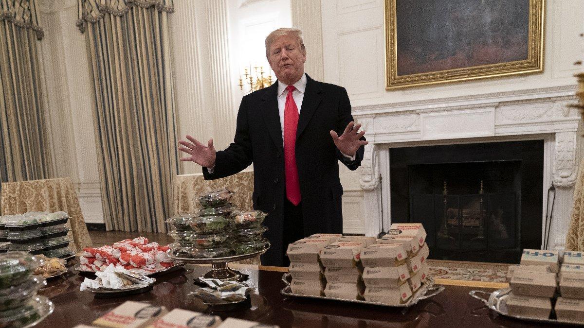 Beyaz Saray'da alarm... Yiyecek bir şey kalmadı!