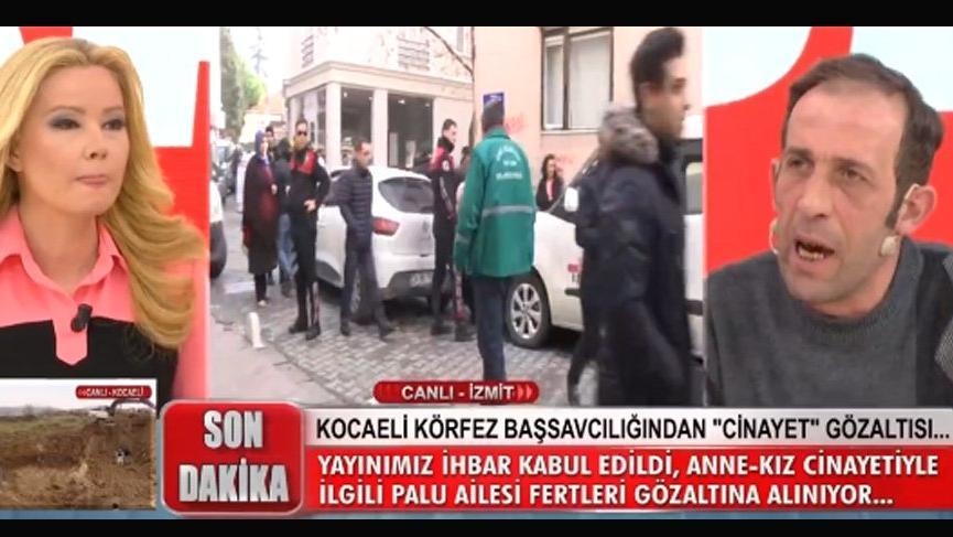 Tuncer Ustael önce savunma yaptı, sonra gözaltına alındı! İşte Palu Ailesi gözaltı yayını...