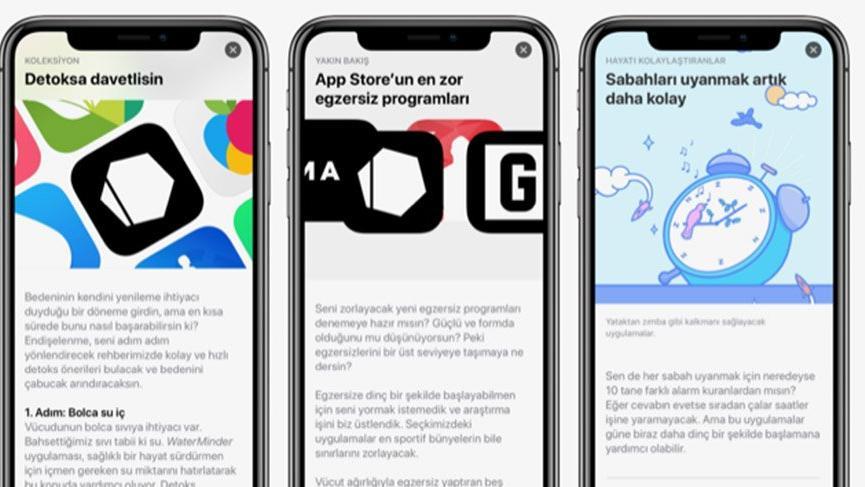Apple'dan 2019 hedefleri için uygulama önerileri