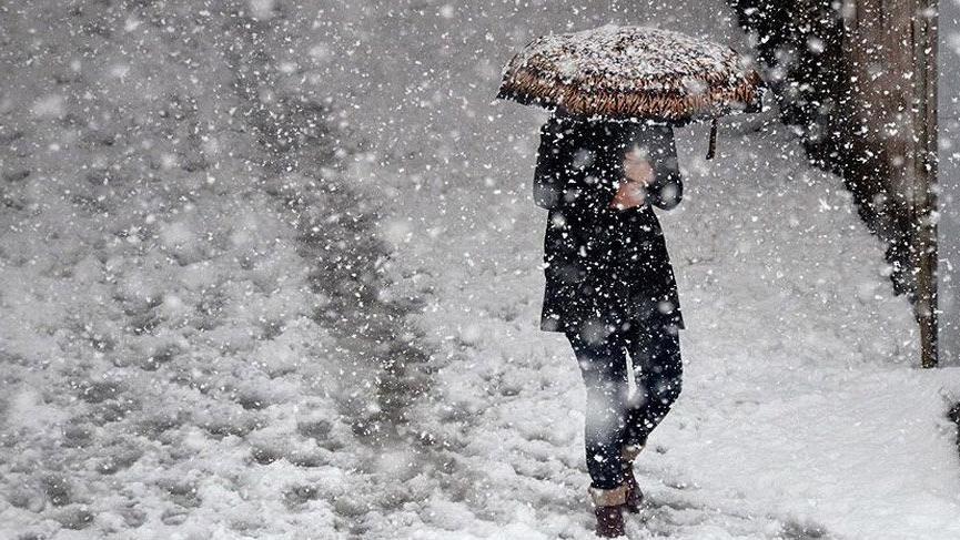Ankara için kritik kar yağışı uyarısı