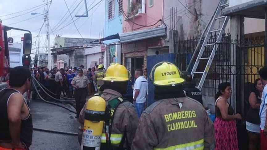 Ekvador'da rehabilitasyon merkezinde yangın: 18 ölü