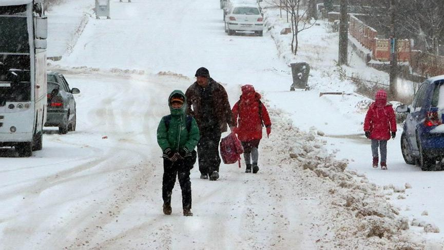 Çankırı'da okullar tatil mi? 9 Ocak'ta Çankırı'da bir ilçede eğitime kar engeli!