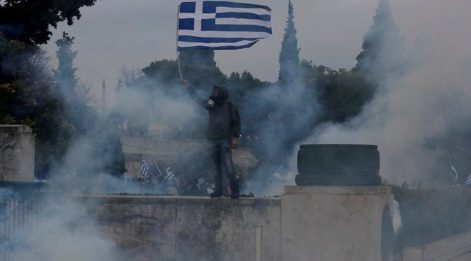 Yunanistan'ın başkentinde sokaklar karıştı