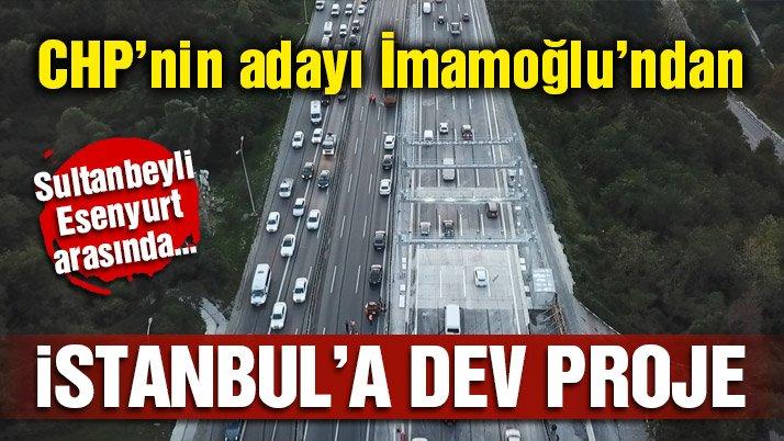 Ekrem İmamoğlu'ndan Sultanbeyli-Esenyurt arasına ekspres hat projesi