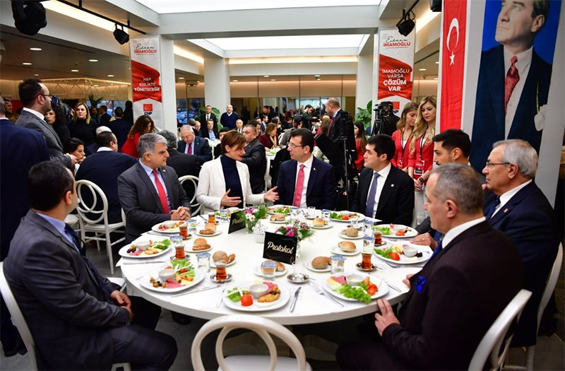 İmamoğlu, İstanbul ittifakı kavramına talibiz. Foto: Sözcü