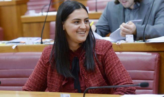 Ivana Nincevic-Lesandric'in konuşması kadınları harekete geçirdi.
