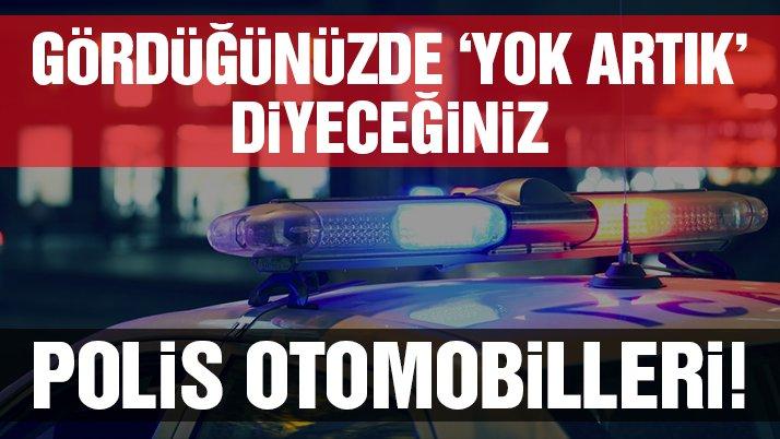 En ilginç polis otomobilleri