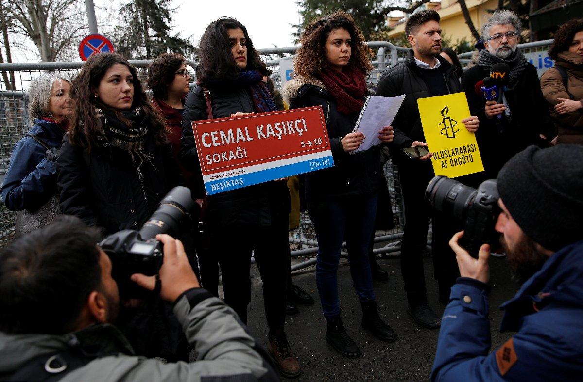 Uluslararası Af Örgütü, Kaşıkçı için adalet çağrısında bulundu.