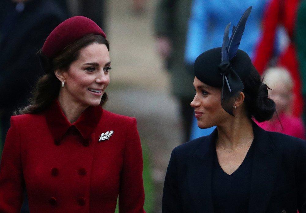 Kate Middleton ve Meghan Markle