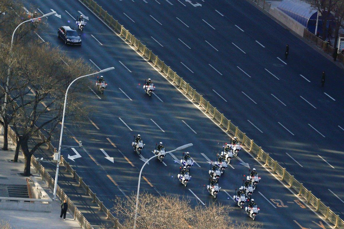 Kim Jong-un'un Pekin temaslarında üst düzey güvenlik önlemleri alındı.