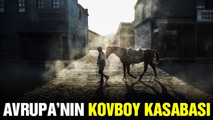 Avrupa'da bir kovboy kasabası