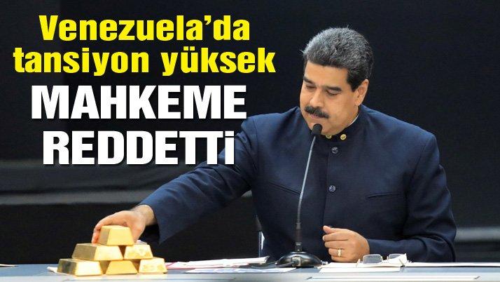 Venezuela'da tansiyon yüksek: Yüksek Mahkeme kararını verdi