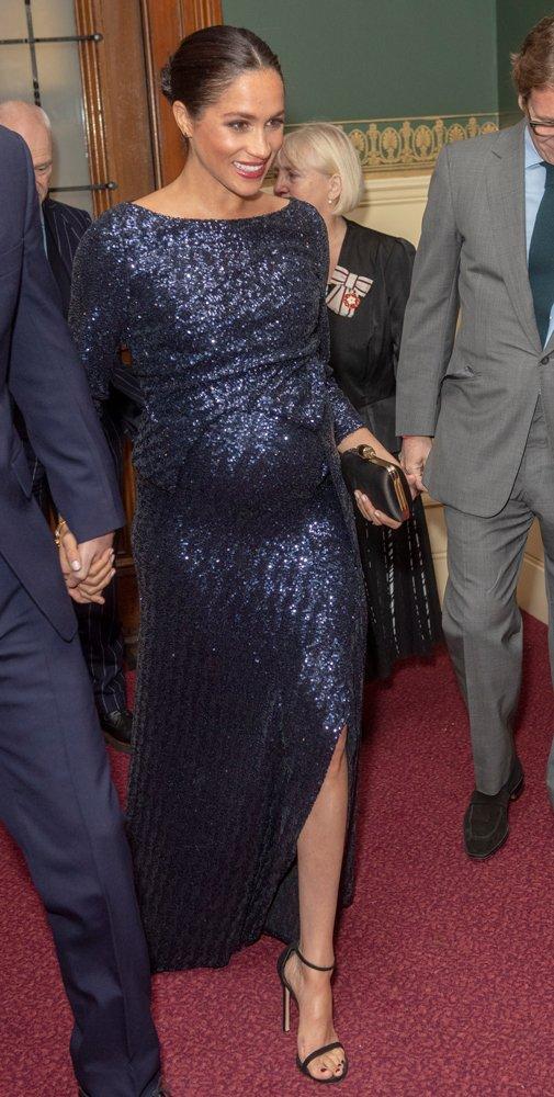 Meghan Markle'ın 23 bin TL'lik elbisesi