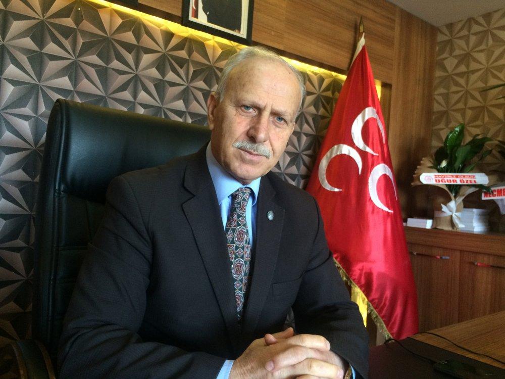 FOTO:SÖZCÜ - MHP İl Başkanı Abdullah Karapıçak,