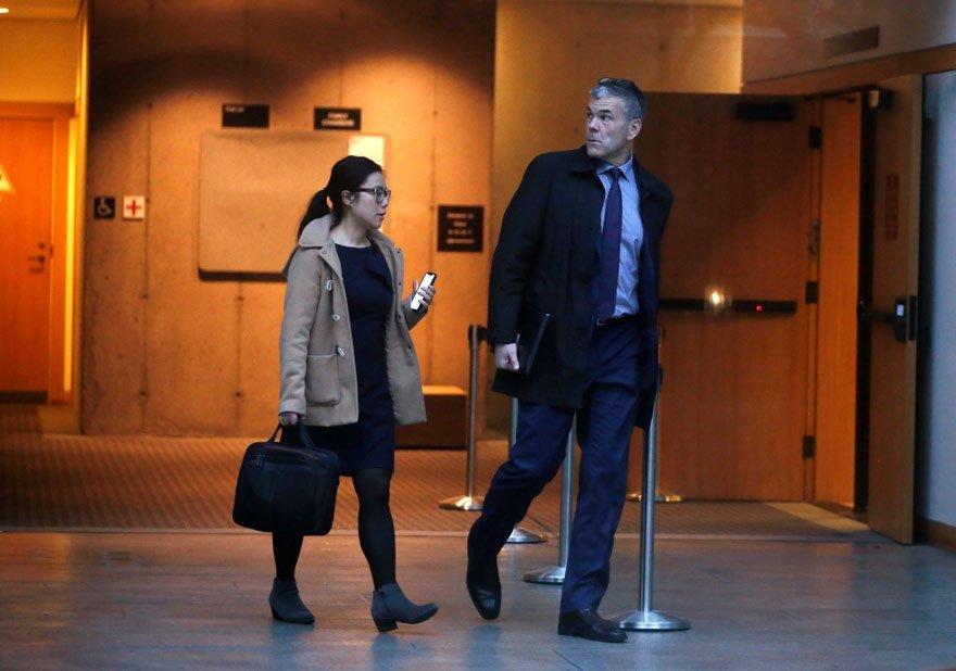 Huawei Kanada İletişimden Sorumlu Başkan Yardımcısı Scott Bradley/Fotoğraf: Reuters
