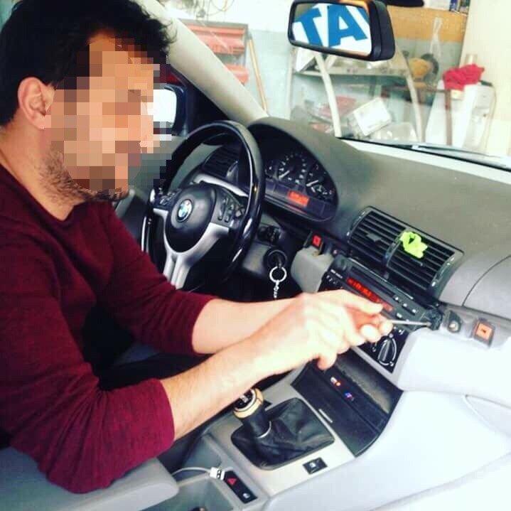 Çete üyeleri önce kiraladıkları aracın GPS cihazını söküyordu.
