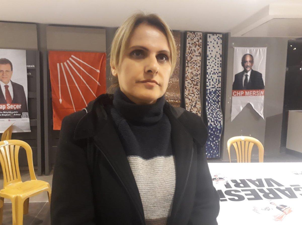 CHP Yenişehir Kadın Kolları Başkanı Sevil Yeşil