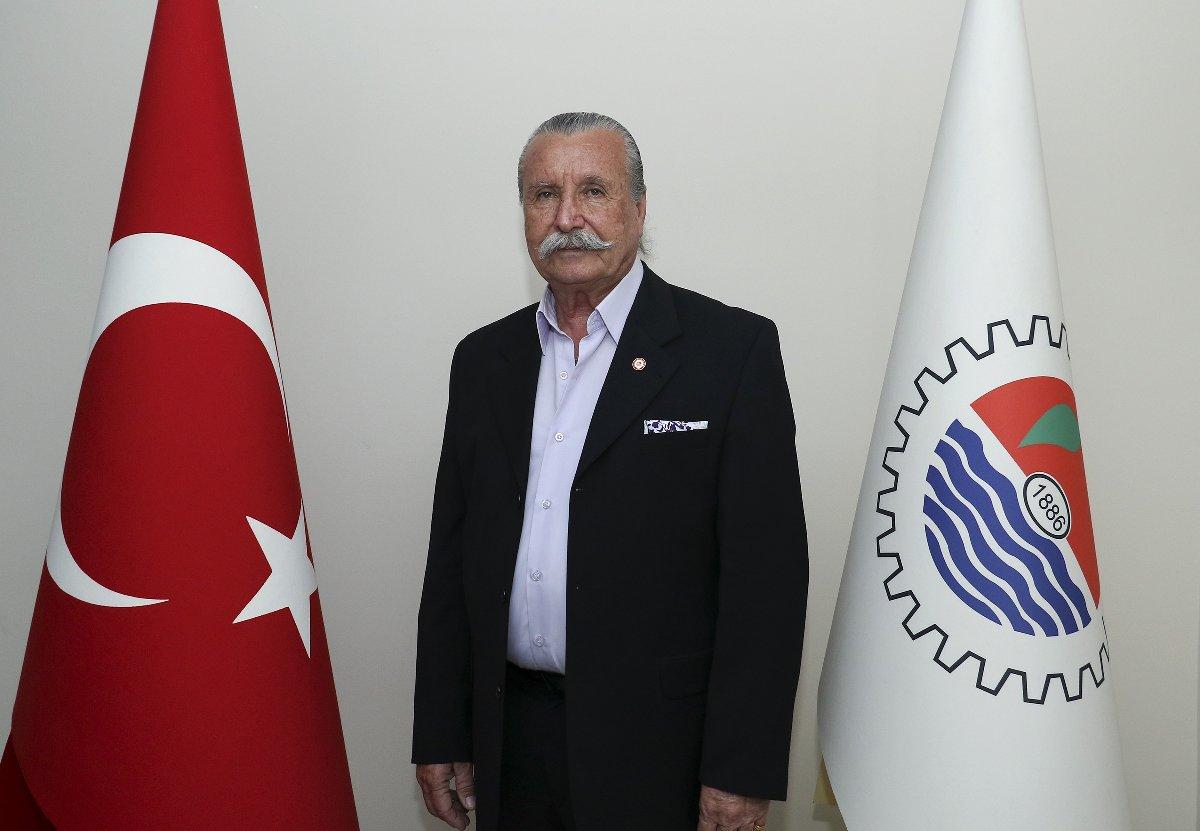 Mersin Ticaret ve Sanayi Odası (MTSO) 13 No'lu Ulaşım Araçları İmalat, Satış ve Onarımı Meslek Komitesi Başkanı Mehmet Kisin