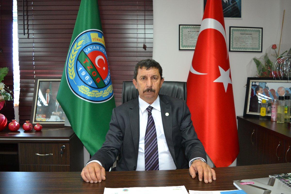 Finike Ziraat Odası Başkanı Halil Sarıçobanoğlu