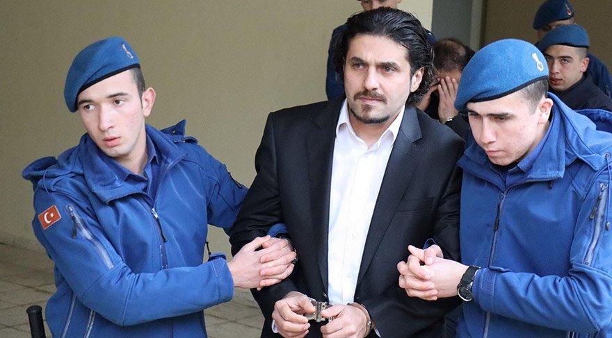 Bodrum Ağır Ceza Mahkemesindeki duruşmaya, tutuklu sanık M.Ö. yoğun güvenlik önlemleri altında getirildi. FOTO:AA