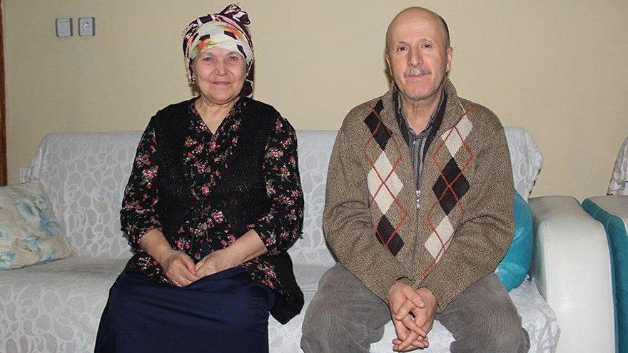 """Selahattin ve Emine Sert, yetkililere """"İnsanca yaşamak istiyoruz"""" diye seslendi."""