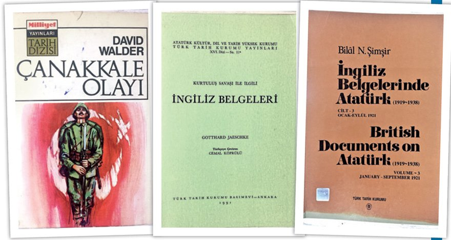 Milli Mücadele'nin aslında bir Türk-İngiliz mücadelesi olduğu konusunda bu kitaplara bakabilirsiniz.