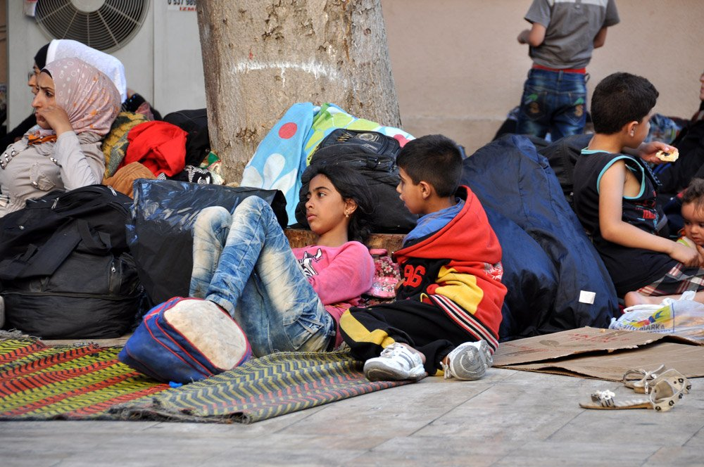 FOTO:Depophotos - Suriyeliler için yapılan çadırkentler neredeyse bomboş durumda.