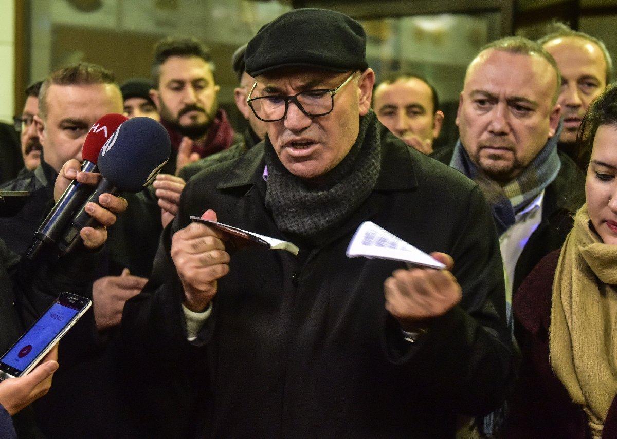 CHP'li Tanal karara tepki gösterdi. DHA