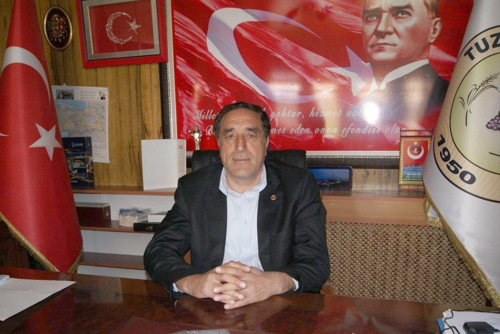 Tuzlukçu Belediye Başkanı iddialar üzerine açıklama yaptı.