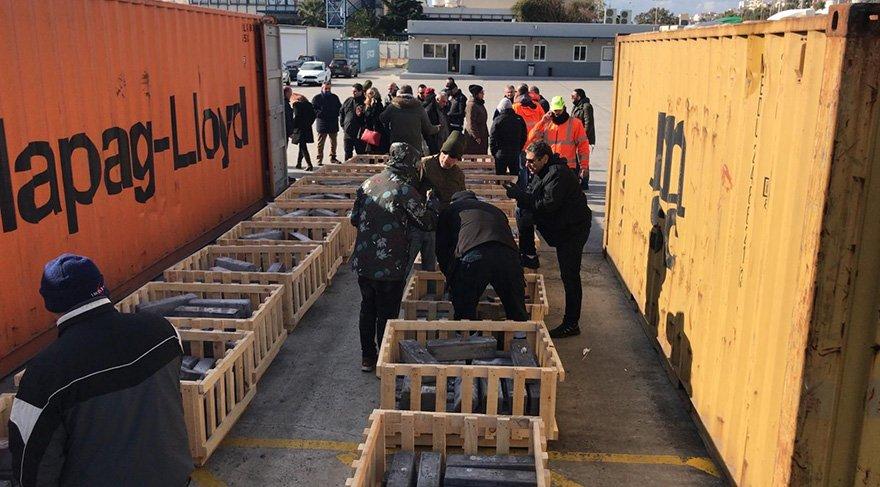 Türkiye'ye deniz yolu ile getirilmek istenen uyuşturuculara Yunanistan'nın Pire Limanı'nda harekât düzenlendi