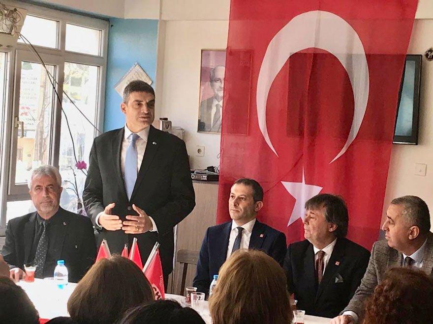 """'31 MART SEÇİMLERİ HAYATİ ÖNEMDE' CHP'li Oran, vatandaşlarla bir araya geldi, """"31 Mart seçimleri Türkiye için hayati bir öneme sahip"""" dedi."""