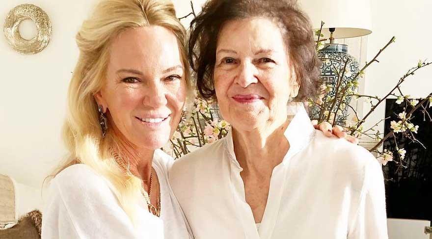 Bettina Machler ve annesi
