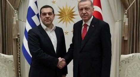 Yunan Başbakan Çipras Ankara'da