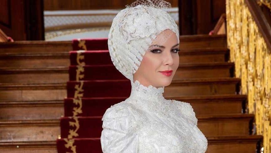Ivana Sert tesettürlü gelinlik giydi