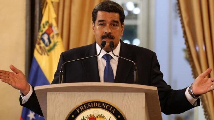 Maduro'dan ABD'ye ırkçılık suçlaması