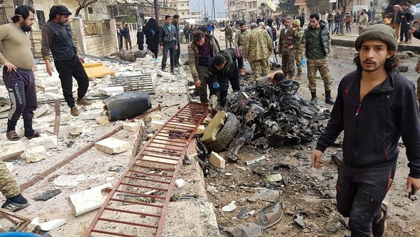 Son dakika... Afrin'de terör saldırısı! 1 ölü, 20 yaralı