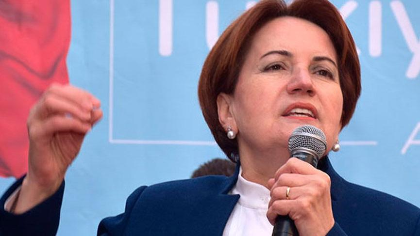 Akşener: 'Erdoğan yıkılmaz' algısı patır kütür çöküyor