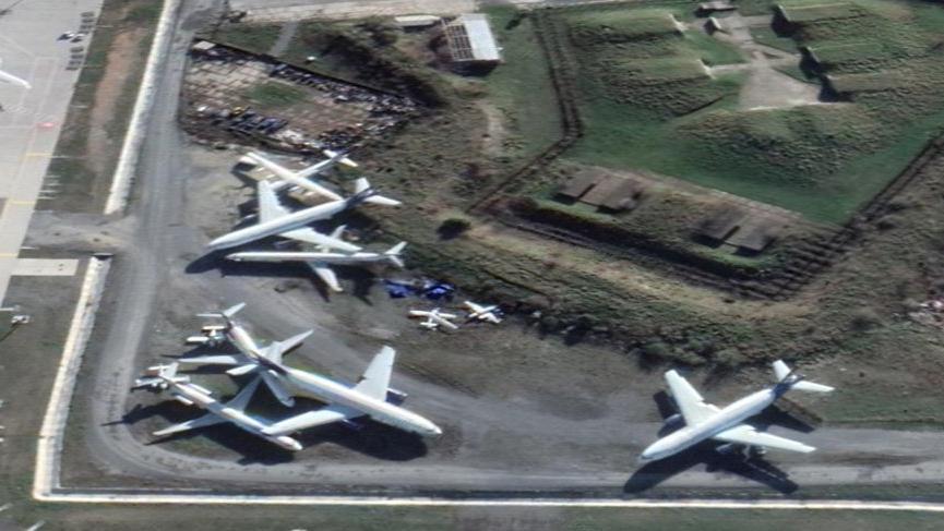 Atatürk Havalimanı hurdalığı