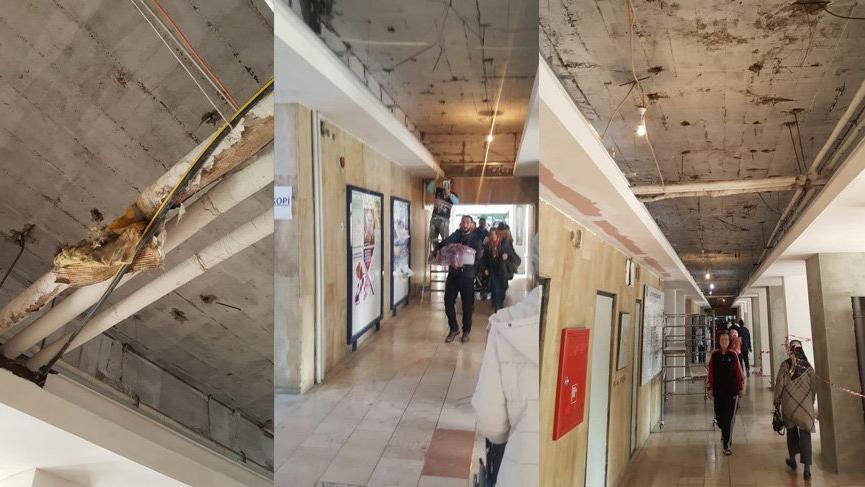 Uludağ Üniversite Hastanesi Asbest saçıyor