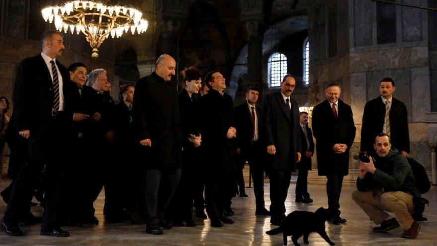 Çipras İstanbul'da… Bugün tarihi ziyarette bulunacak