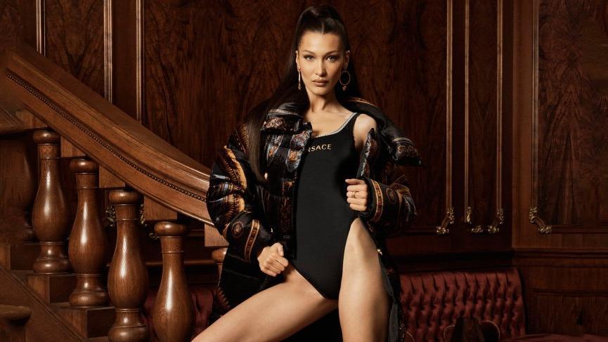 Bella Hadid Kith x Versace'nin yüzü oldu
