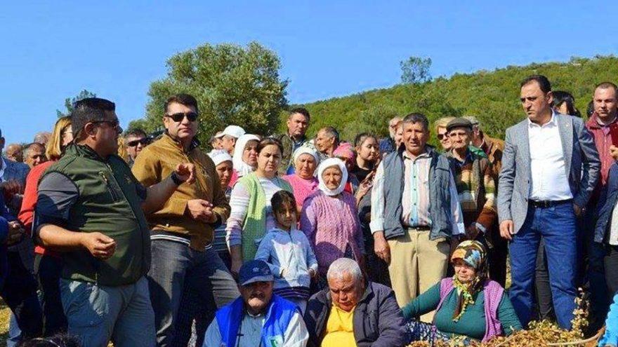 Bodrum, Kargıcık Koyu'nda 'Ormanıma Dokunma' eylemi