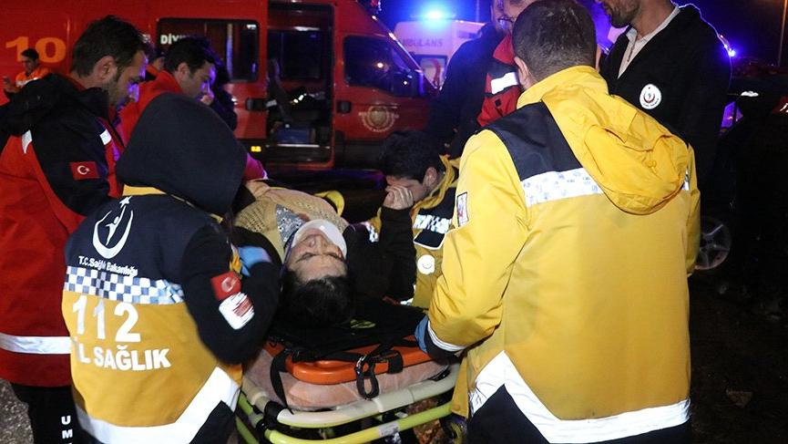 Bolu'da trafik kazası: 9 yaralı