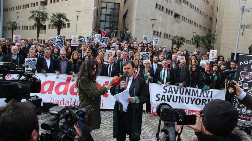 Bursa'da adalet nöbeti