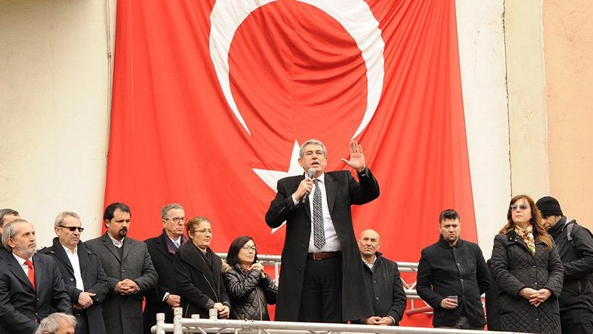 CHP'li Çalkaya'dan protesto mitingi